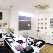 Reforma de oficina, transformacion, decoración, estilo nordico, reforma piso zaragoza