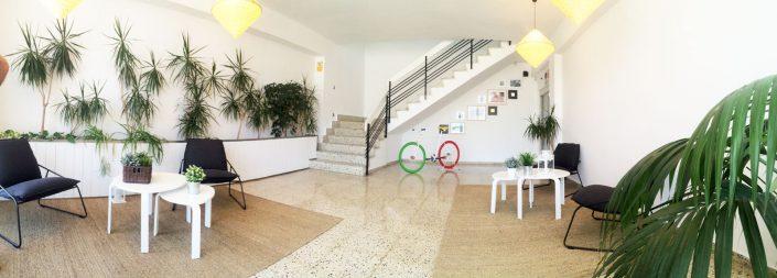 Reforma de recepción, transformacion, decoración, estilo nordico, reforma piso zaragoza